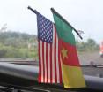 C-Life Cameroon U.S. flags